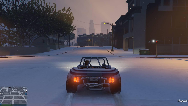 Как сделать эффект снега на в ps4